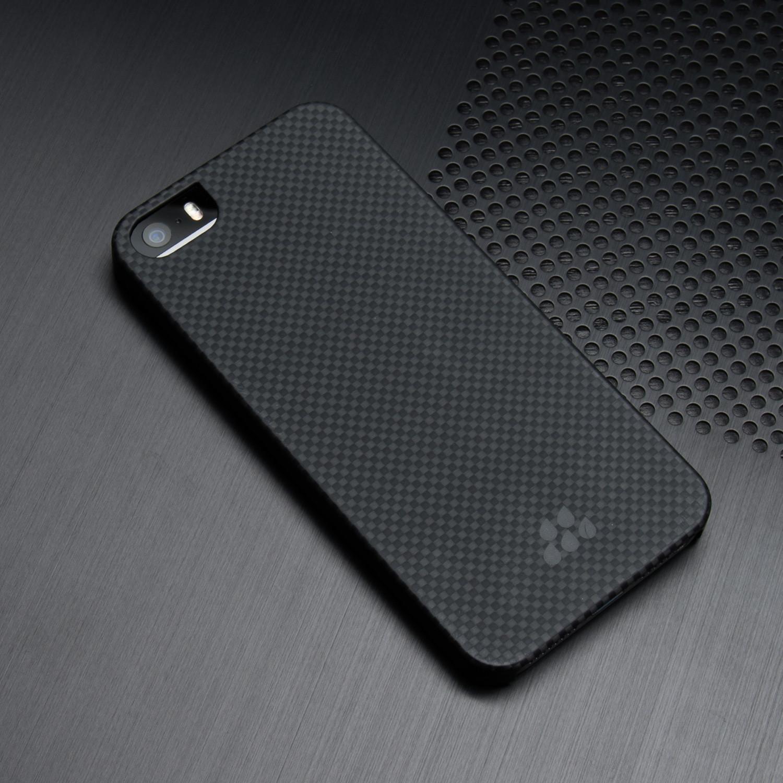 new style 8230c cf830 Evutec Kevlar Karbon S Series // iPhone 5/5S (Black + Red) - Evutec ...
