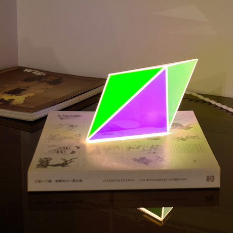 Prism Desk Lamp (Cool)