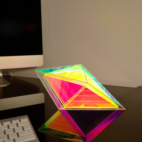 Infinite Prism Desk Lamp