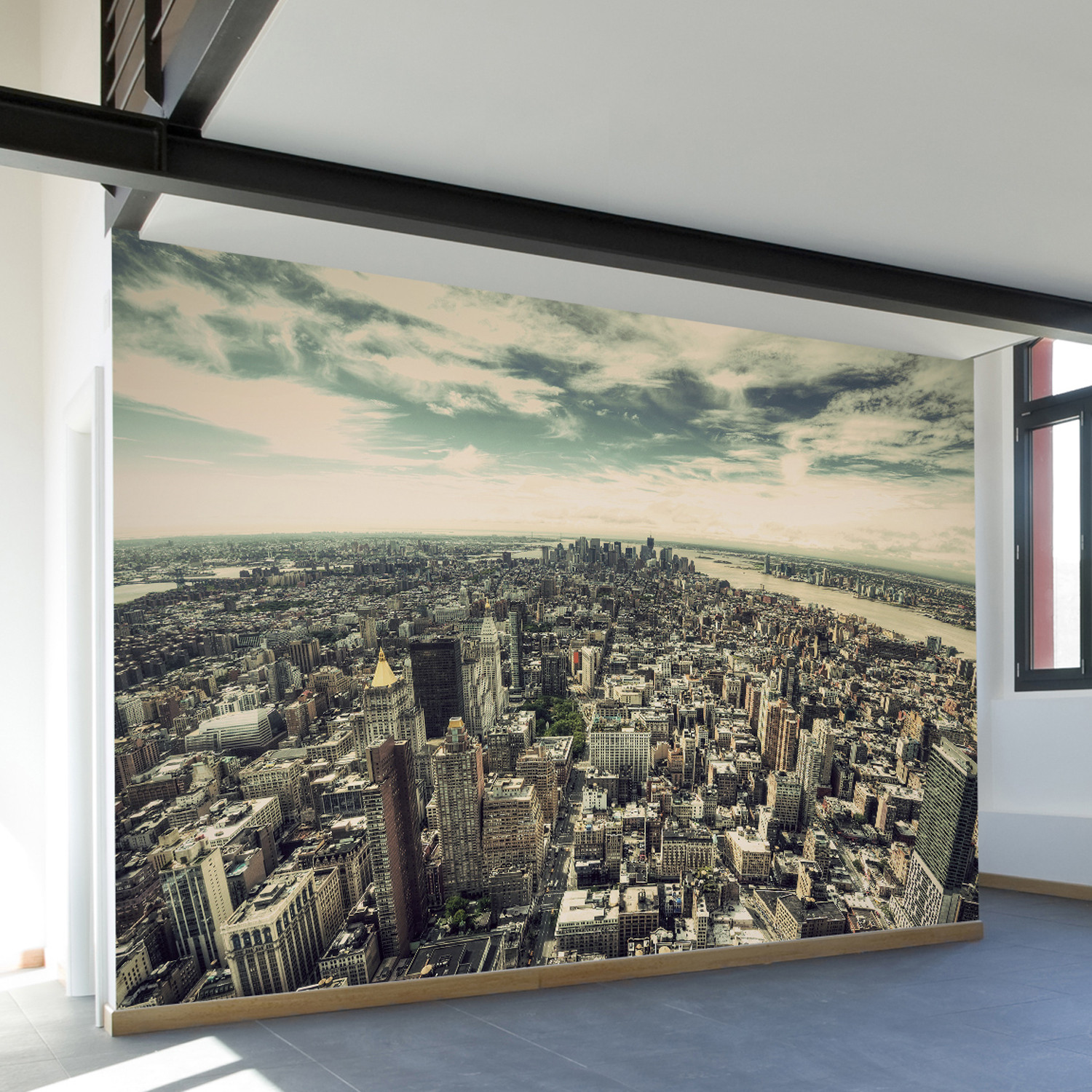 Fifth Ave NYC Wall Mural Decal 140L x 100W Walls Need Love