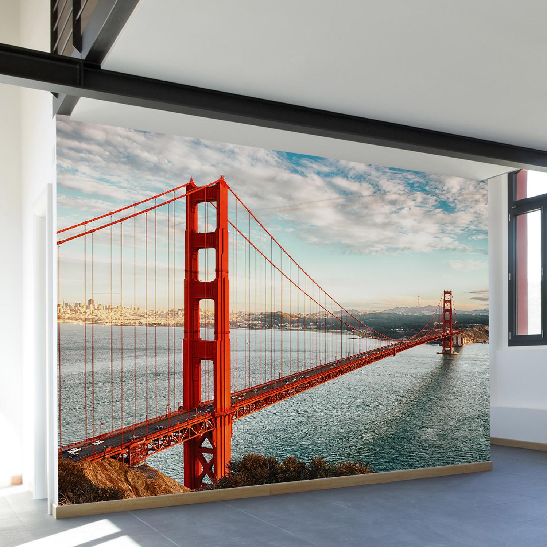 Golden Gate Bridge Wall Mural Decal 100 L X