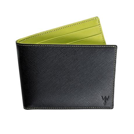 RFID Blocked Slim Wallet (Green)