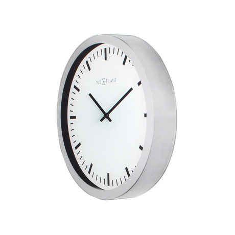 Oval magic clock nextime touch of modern for Touch of modern clock