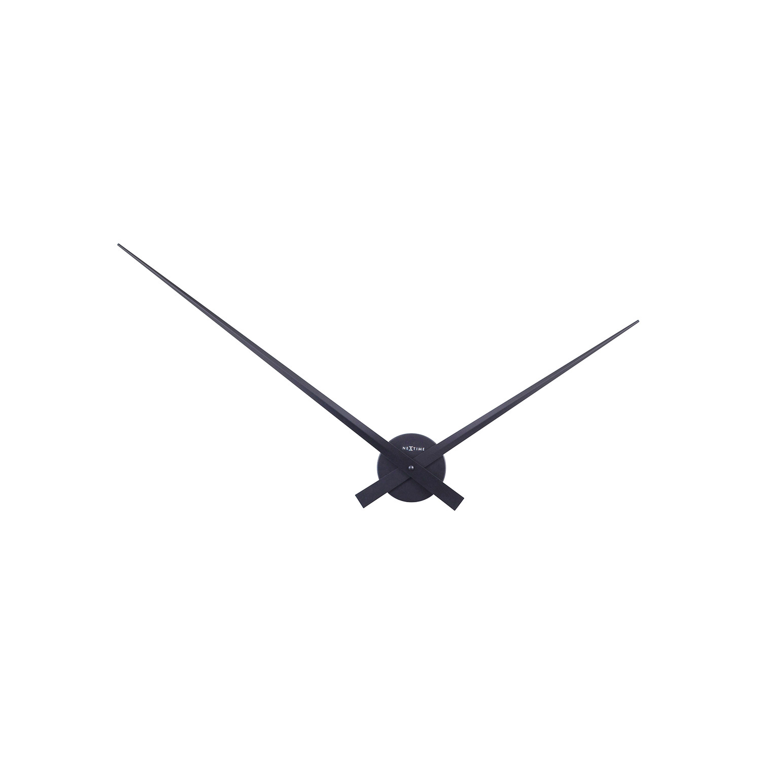 Only Wall Clock Black Hands Nextime Touch Of Modern