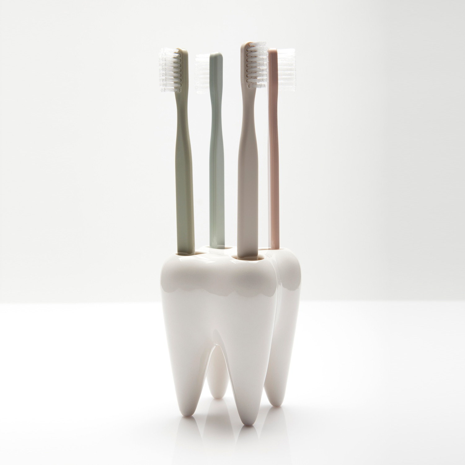 tooth  toothbrush holder  propaganda  touch of modern - tooth  toothbrush holder