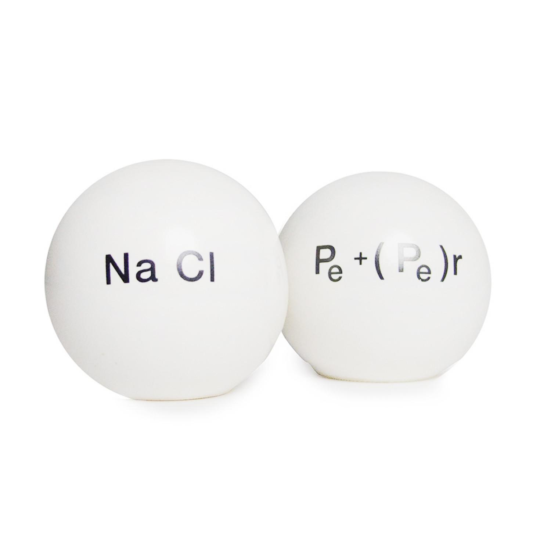 Chemical salt and pepper shaker propaganda touch of modern - Chemistry salt and pepper shakers ...