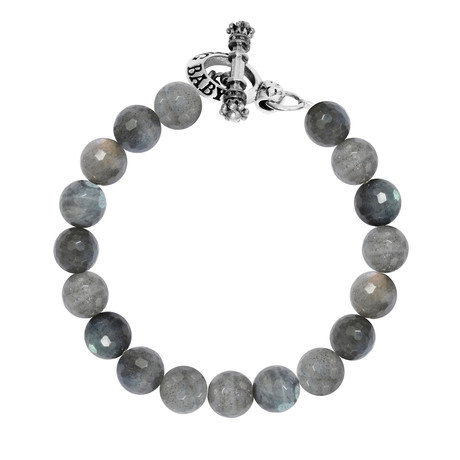 Labradorite bracelet w toggle clasp king baby touch for King baby jewelry sale