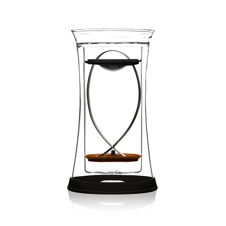 bigfish french press glass  set of  (black)  highwave  touch  - bigfish french press glass  set of  (black)