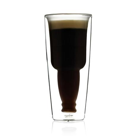 De Ierse Mok van het Bier - Frosted // Set van 4
