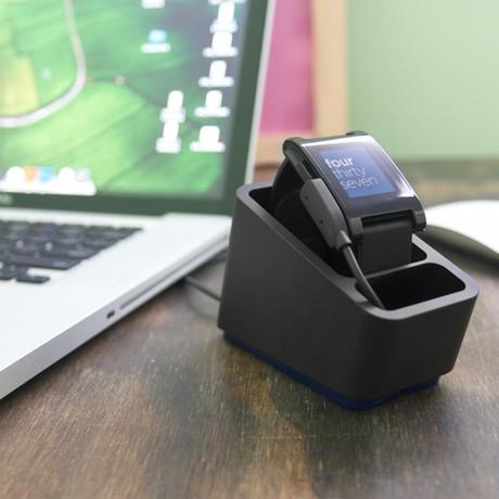 Coogobox // Mezzo Dock for Smartwatch (Black)