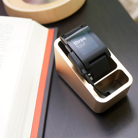 Coogobox // Mezzo Dock for Smartwatch (Black)