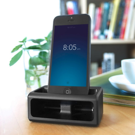 Coogobox // Symphony Dock for iPhone 5/5S/5C (Black)