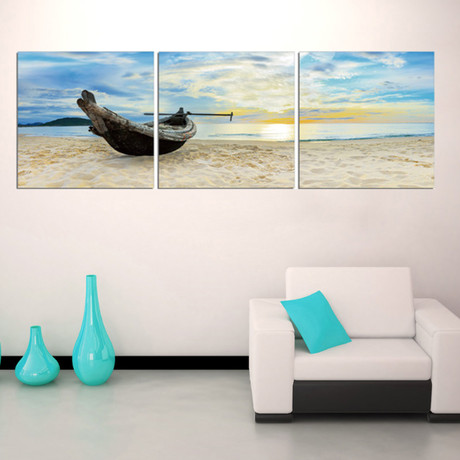 "Take Me to the Beach (20""H x 60""W x 1""D)"