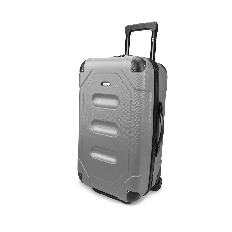 us traveler long haul  cargo trunk luggage (steel gray  - us traveler long haul  cargo trunk luggage (steel