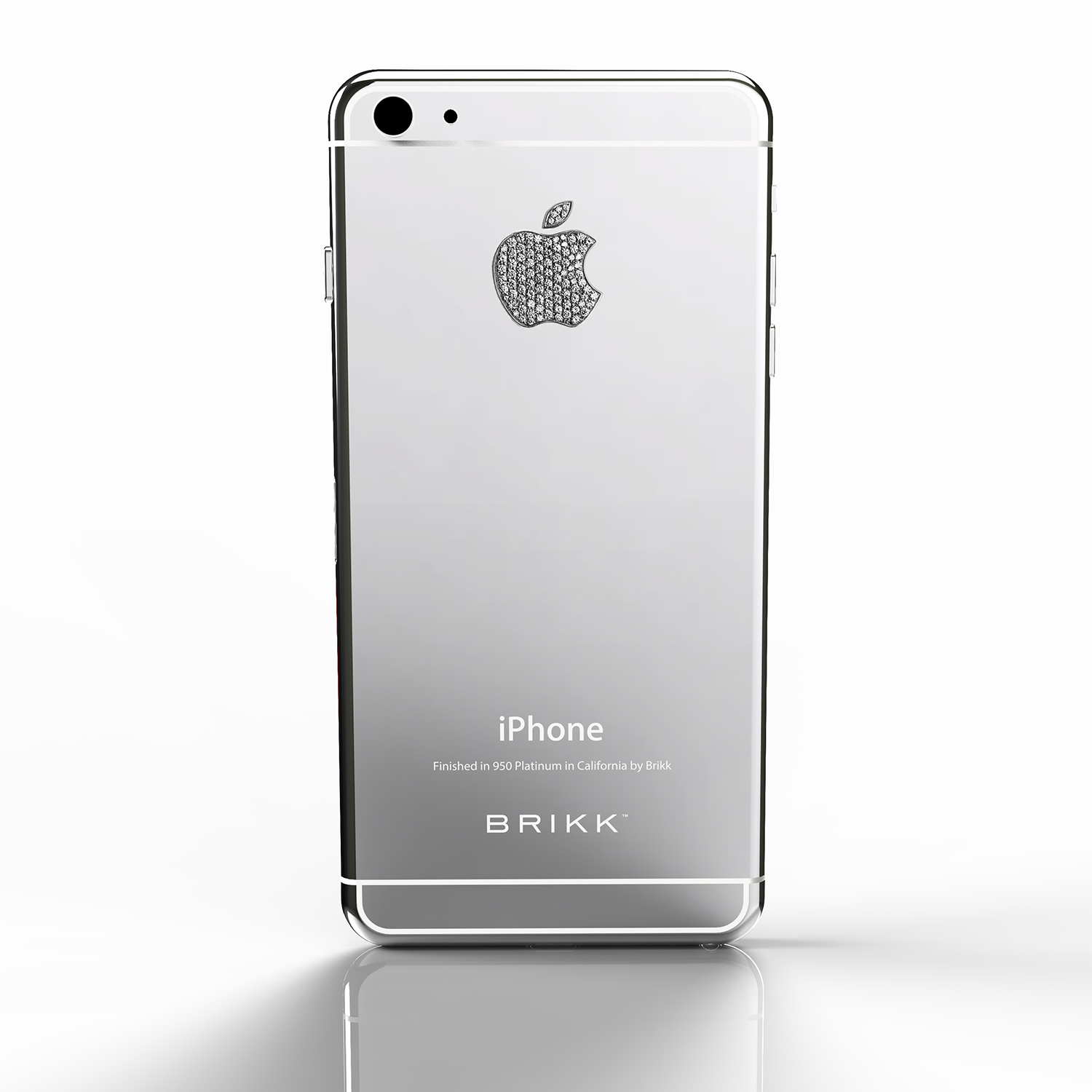 new arrival 8f397 4cf07 Lux iPhone 6 Platinum Diamond Logo // AT&T or T-Mobile (White ...
