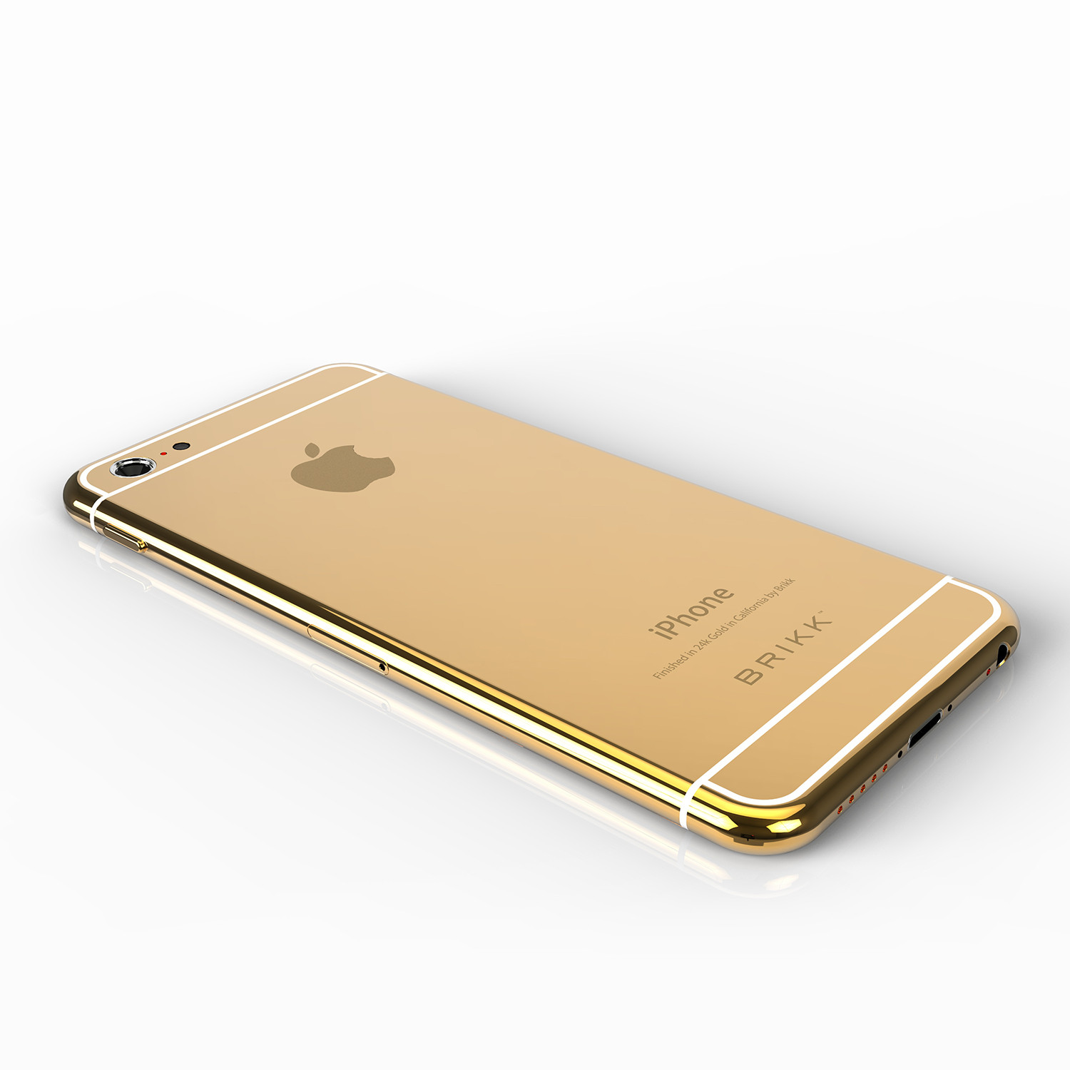 lux iphone 6 plus yellow gold at t or t mobile white brikk touch of modern. Black Bedroom Furniture Sets. Home Design Ideas