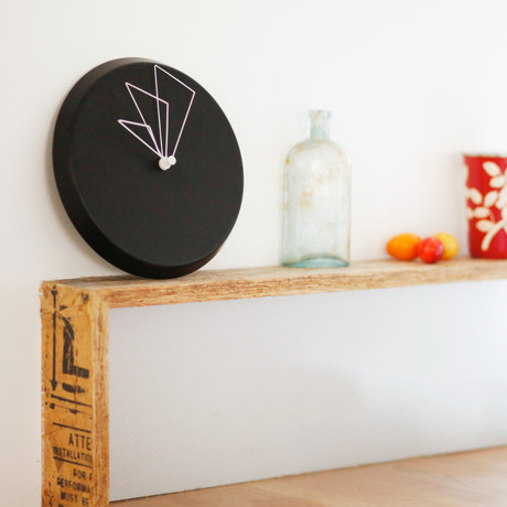 Perspective Clocks // D Clock