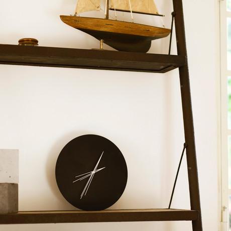 Perspective Clock // V Clock