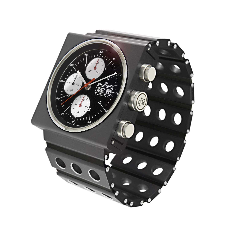 Triplex 2 Chronograph Ballfinger Watch Touch Of Modern
