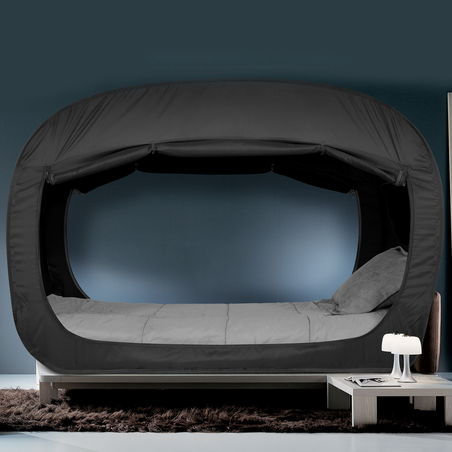 Privacy Pop Bed Tent (Queen) : bed tents queen size - memphite.com