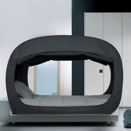 privacy pop bed tent twin privacy pop touch of modern. Black Bedroom Furniture Sets. Home Design Ideas