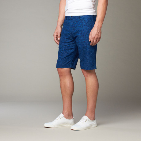 Summer Blossom Shorts // Blue