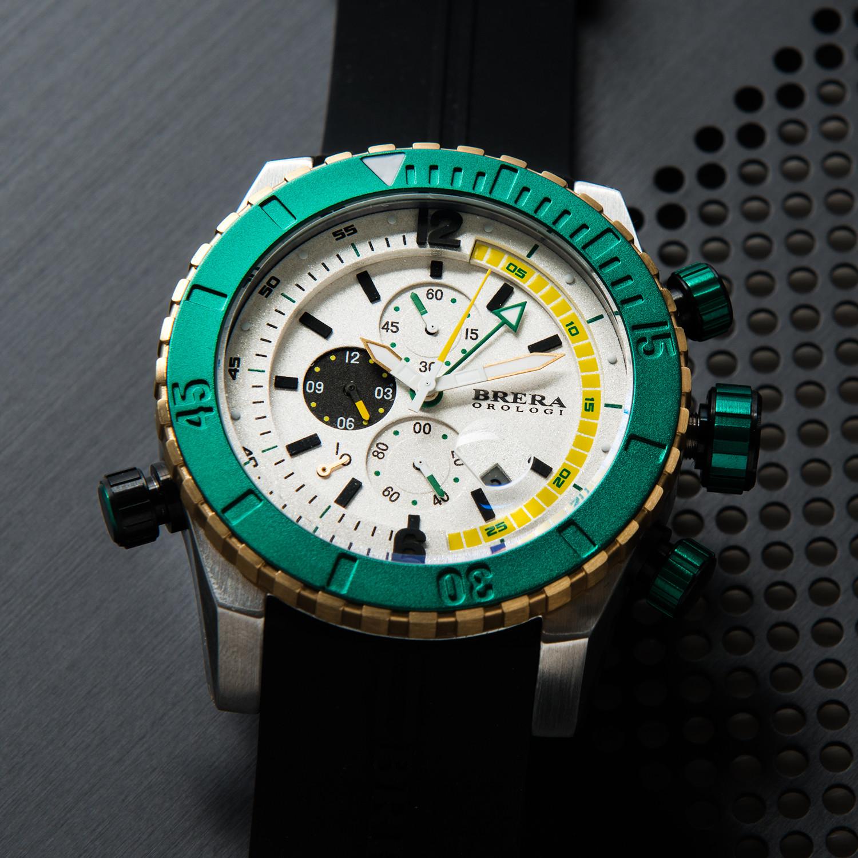 Sottomarino diver white brera orologi touch of modern for Sottomarino italia