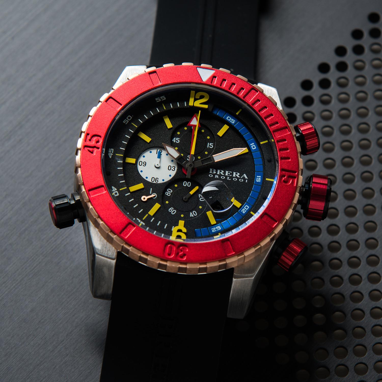 Sottomarino diver black brera orologi touch of modern for Sottomarino italia