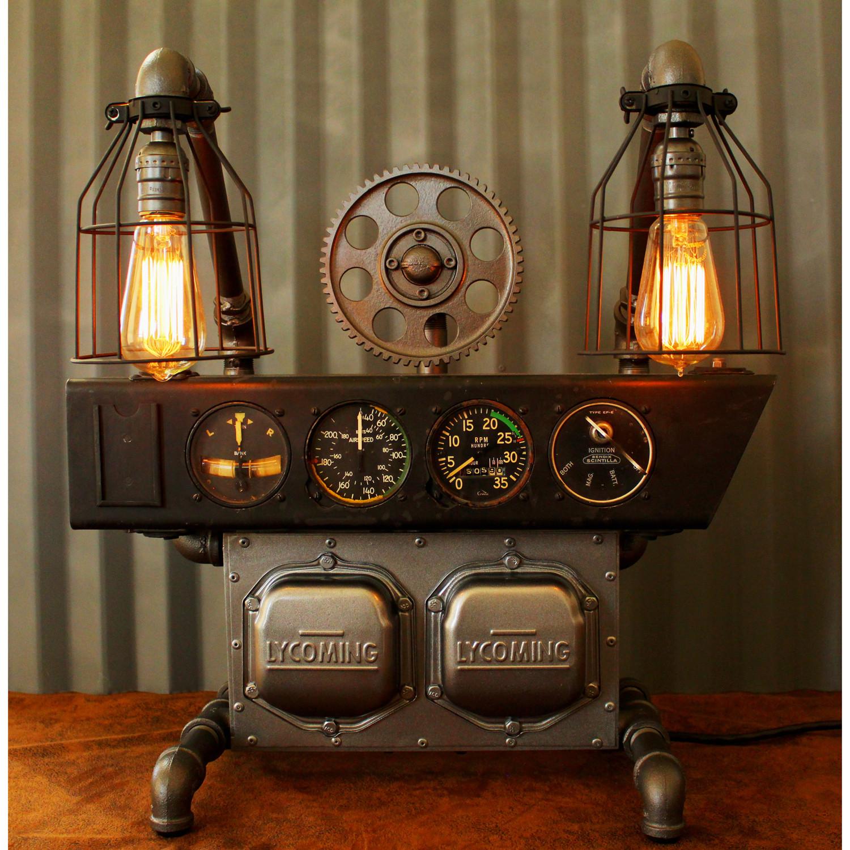 Machine Age Aviation Lamp // No. 25