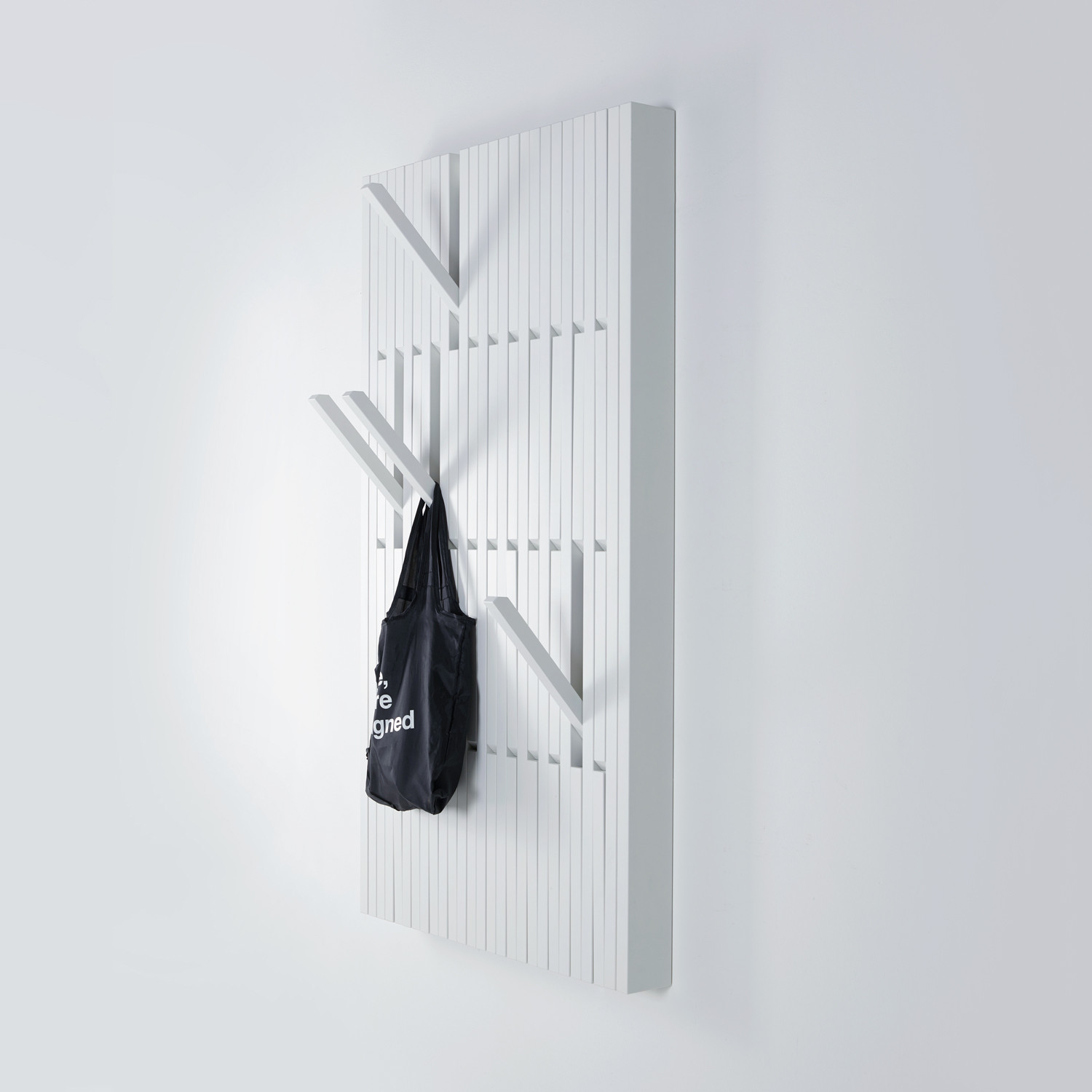 piano coat rack large beech white per use touch of modern. Black Bedroom Furniture Sets. Home Design Ideas