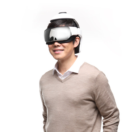 iDream3S Eye + Head Massager