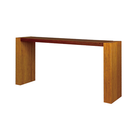 Laurel Two-Tone Console Table