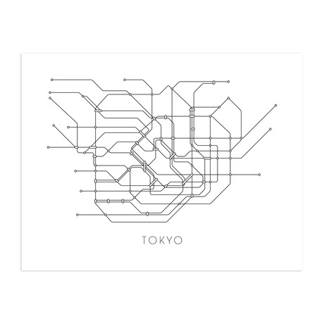 Metro kaart london
