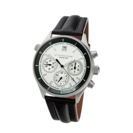 Часы с двумя независимыми измерительными системами: одна показывает текущее время, другая измеряет короткие промежутки времени.