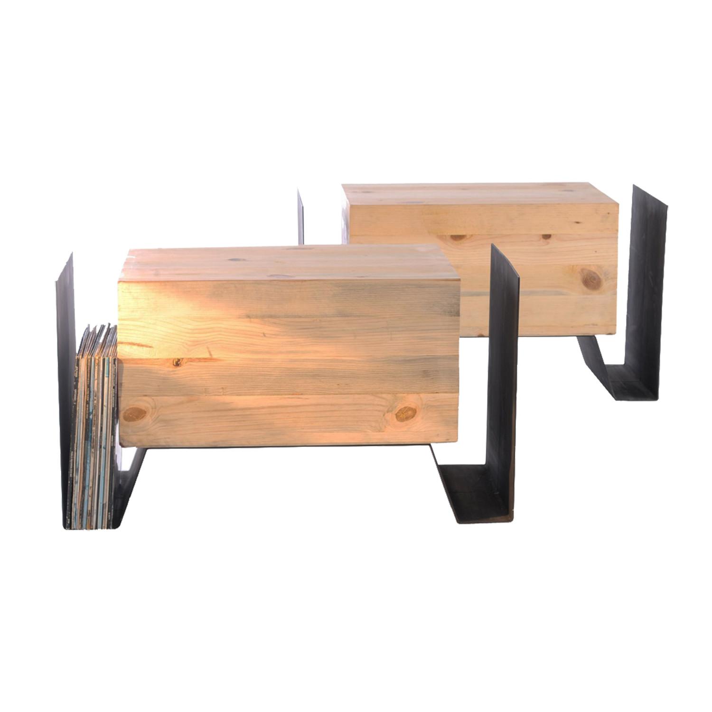 Black Mini Bench Tallerr Touch Of Modern