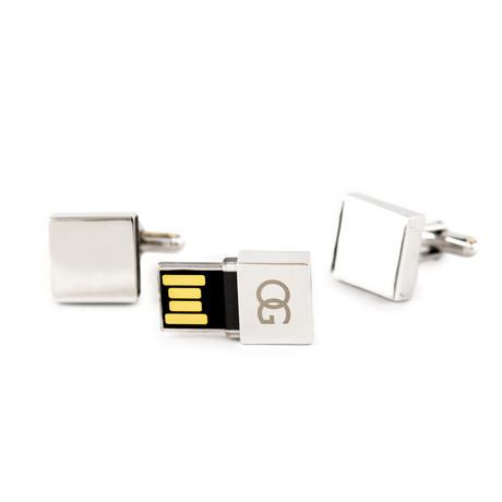 USB Cufflinks // 2GB