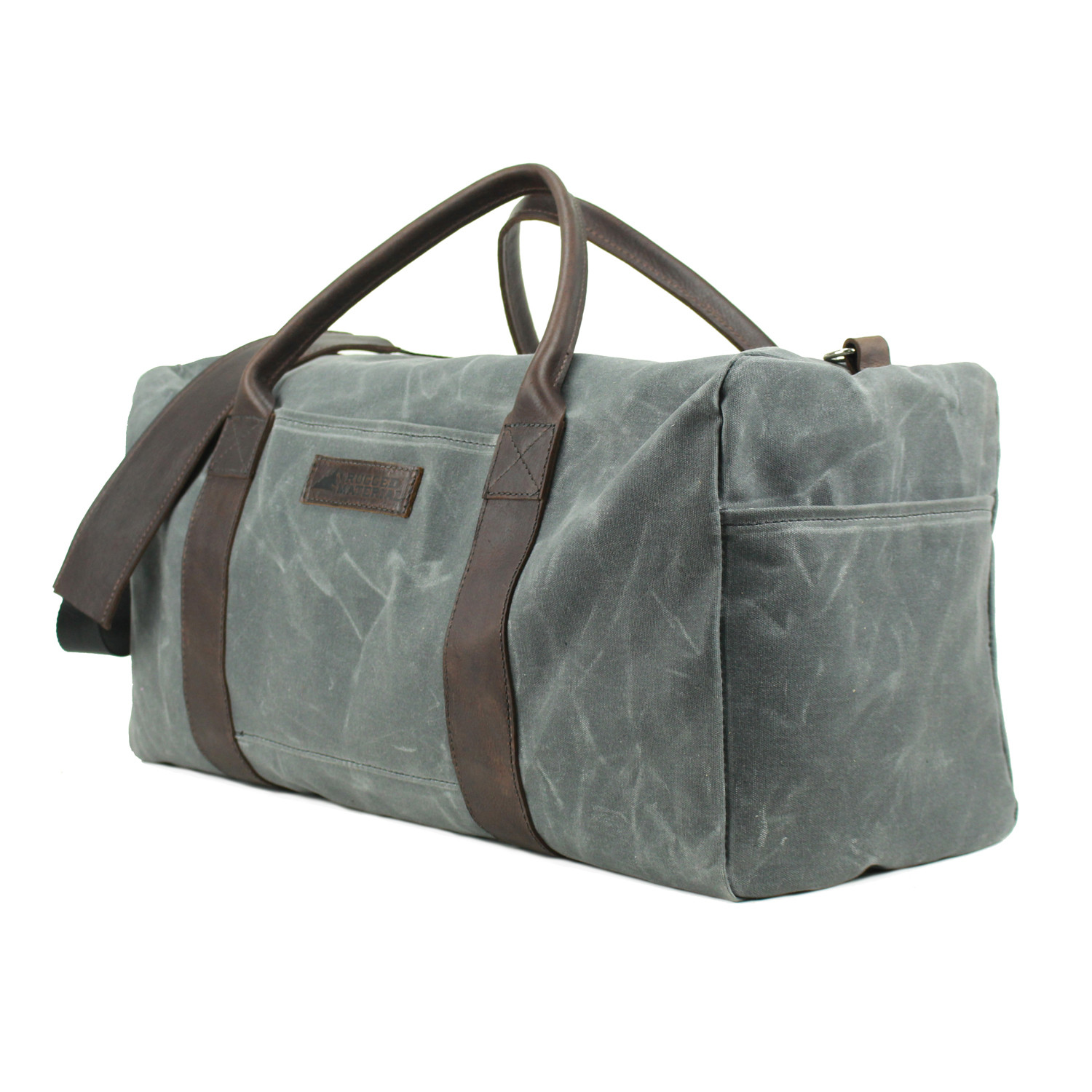 7e0fa25ad1c2 Waxed Canvas Duffle Bag - Rugged Material - Touch of Modern