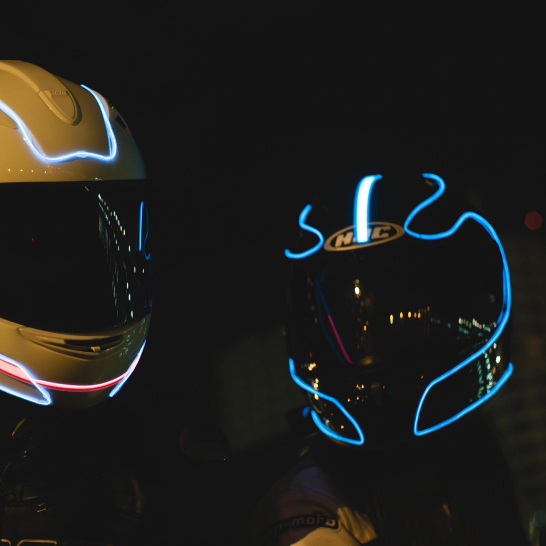 electron kit aqua light mode helmets touch of modern