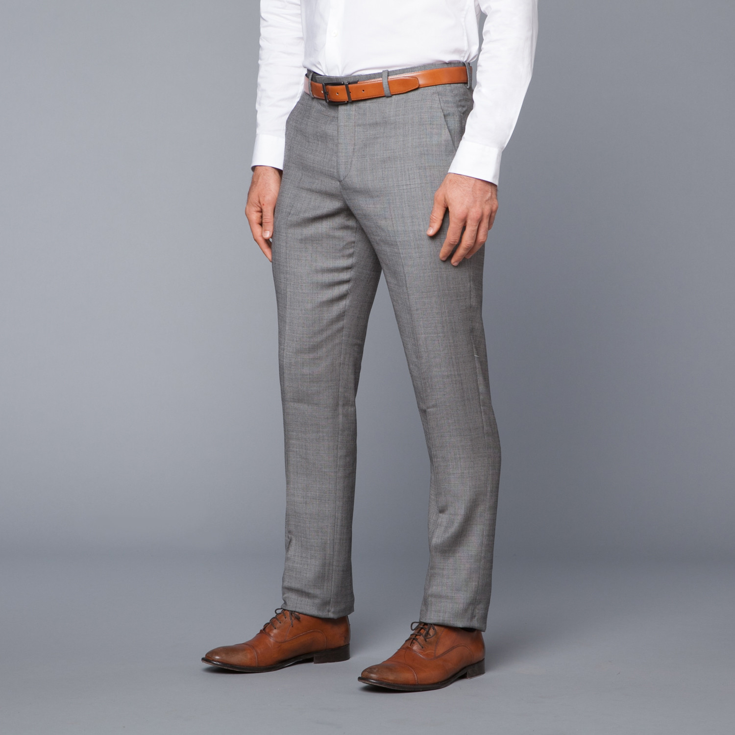 Dress Pants // Grey (32WX36L) - Report Collection - Touch of Modern