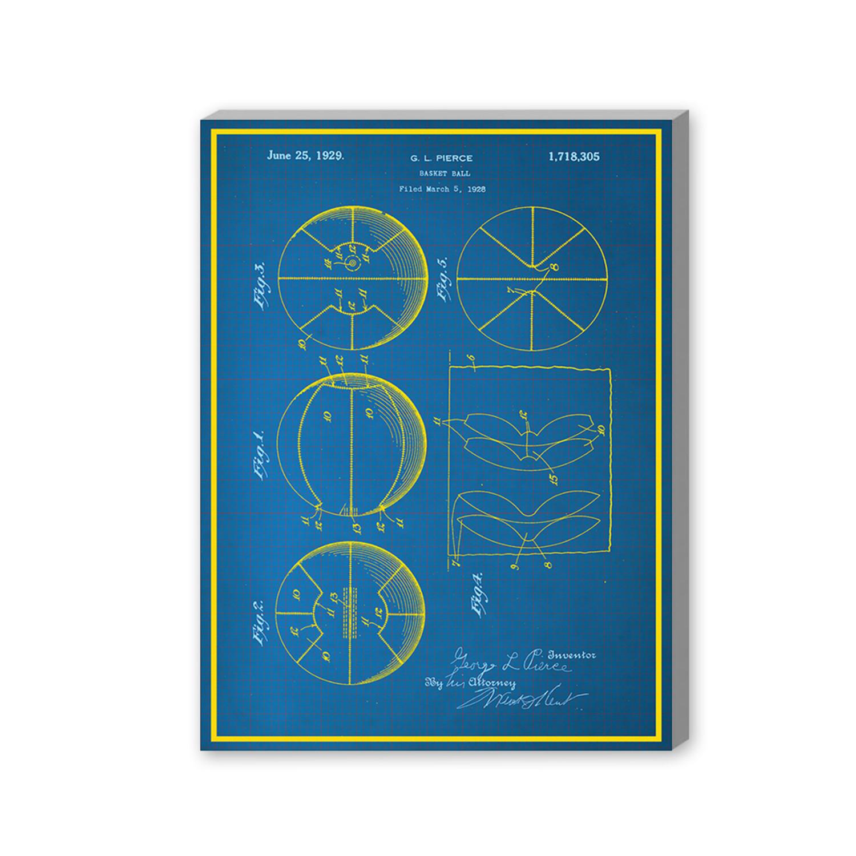 Basketball 16w x 20h x 15d blueprints touch of modern basketball 16w x malvernweather Choice Image