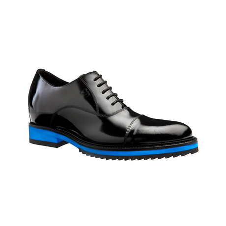 Paris Polished Shark Sole Oxford Shoes // Black (US: 7)