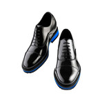 Paris Polished Shark Sole Oxford Shoes // Black (US: 9.5)