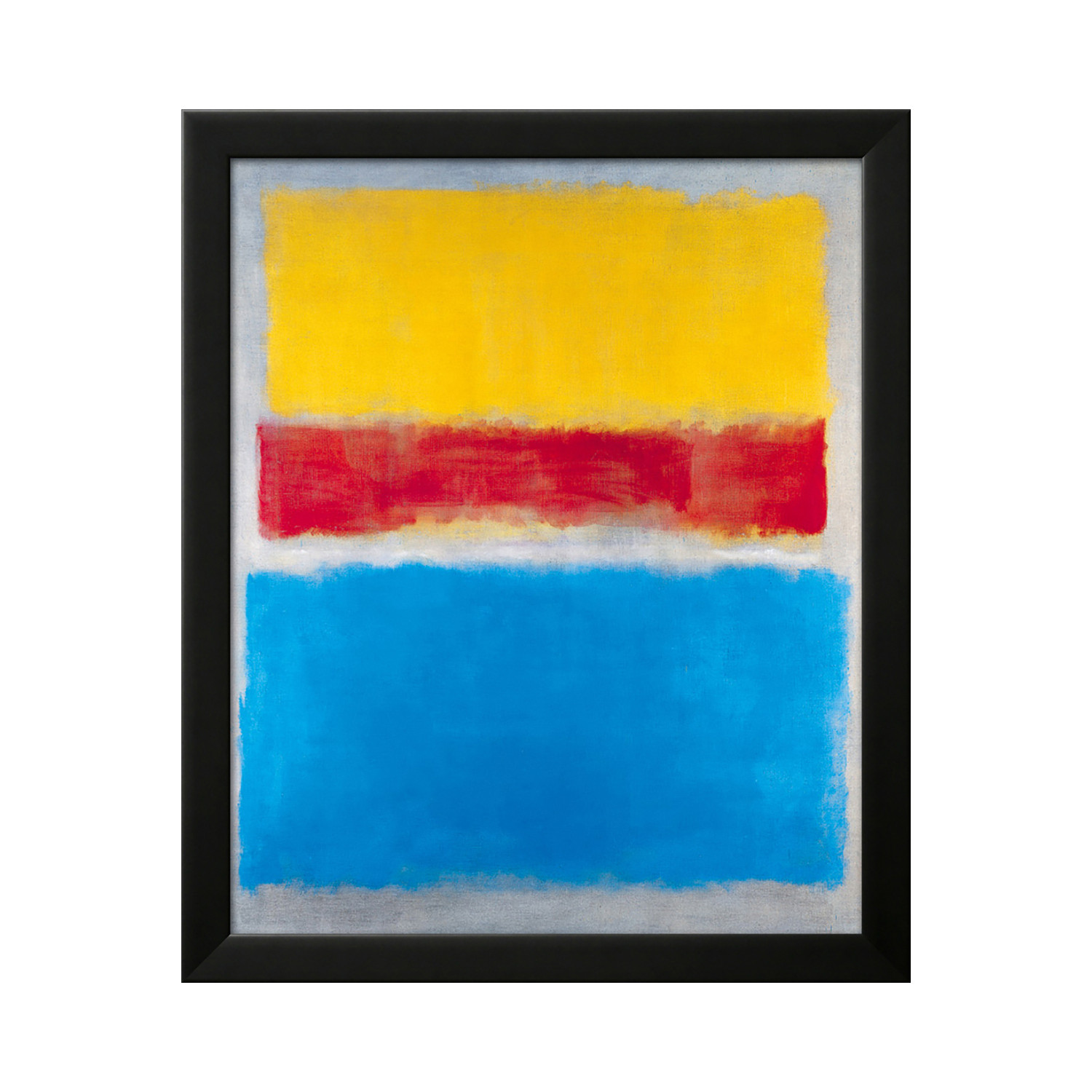 Mark Rothko Untitled Yellow Red And Blue Standard