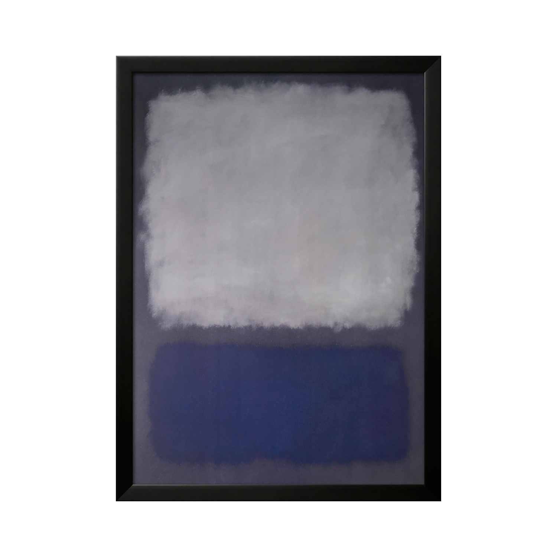 Mark Rothko Blue Amp Gray Standard Mark Rothko