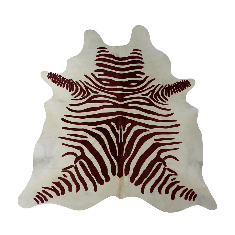 zebra cowhide rug bedroom dark brown on white stenciled zebra cowhide rug chesterfield