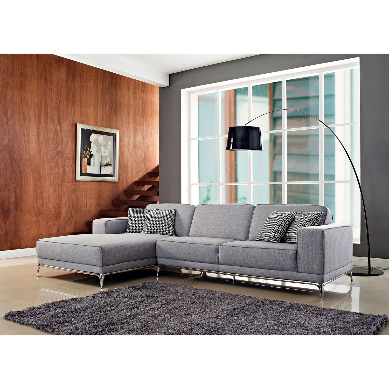 Agata Sectional Sofa Left Facing Chaise Creative Furniture