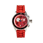 OceanMoon // Red Dial + Red Earth Crown