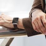 Wellograph Health Watch // Silver Satin