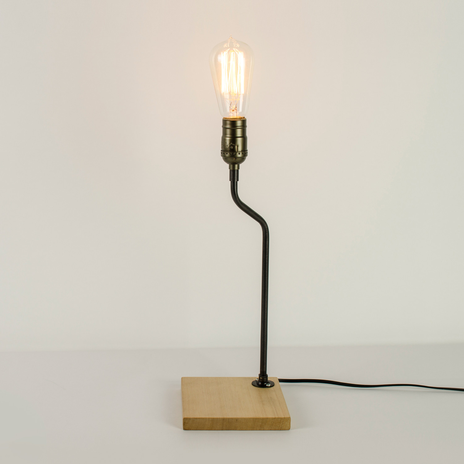 Industrial Minimalist Small Lamp Chic Watts Touch Of