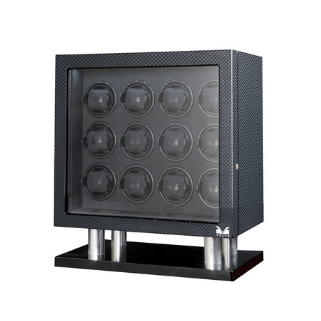 12 Watch Winder // Carbon Fiber
